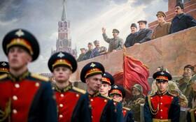 (تصاویر) گارد احترام در موزه پیروزی در مسکو روسیه