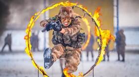 (تصاویر) آموزش نظامیان چینی