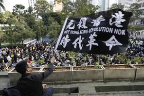 (تصاویر) ادامه تظاهرات در هنگ کنگ