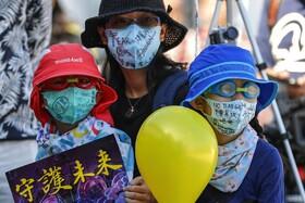 (تصاویر) تظاهرات در هنگ کنگ