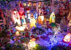 (تصاویر) تزئینات سال نو در انگلیس
