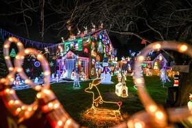 (تصاویر) تزئینات سال نو میلادی در بریستول انگلیس