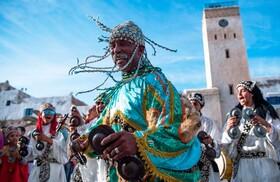 (تصاویر) جشن گناوایی های مراکش برای ثبت فرهنگشان در یونسکو