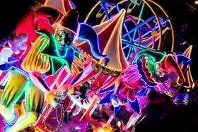 (تصاویر) جشنواره نور در استقبال از زمستان و سال نو میلادی در سان خوزه کاستاریکا در آمریکای جنوبی