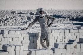(تصاویر) کارگاه سنگ بری در مینیا در مصر