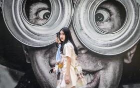 (تصاویر) نقاشی دیوار در تایلند