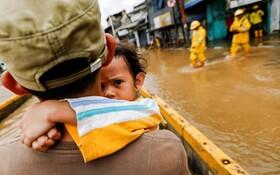 (تصاویر) سیل در اندونزی