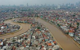 (تصاویر) سیل در جاکارتای اندونزی