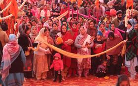 (تصاویر) مراسم مذهبی سیک ها در منطقه جامو کشمیر در هند