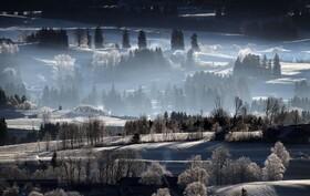 (تصاویر) منظره ای زمستانی در آلمان