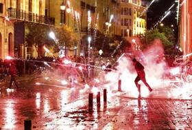 (تصاویر) تظاهرات در بیروت علیه دولت