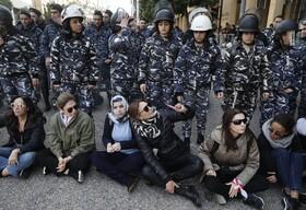 (تصاویر) تظاهرات مخالفان دولت در بیروت