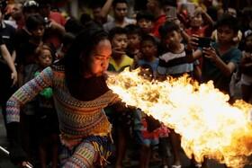 (تصاویر) جشن سال نو چینی در فلیپین