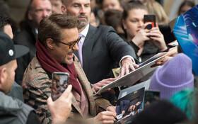 (تصاویر) رابرت داونی جونیور هنرپیشه آمریکایی در مراسم نمایش فلیم جدیدش دوکتر دولیتل در لندن