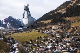 (تصاویر) هفته پرواز بالن های هوای گرم در سوئیس