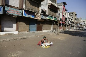 (تصاویر) اعتصاب در احمد آباد هند علیه قانون مهاجرت دولت هند