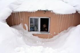 (تصاویر) بارش شدید برف در ترکیه