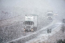 (تصاویر) بارش برف در انگلیس