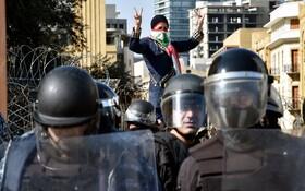 (تصاویر) تظاهرات در بیروت