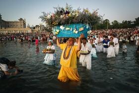 (تصاویر) جشنواره خدای آب در مونته ویدیو در اروگوئه