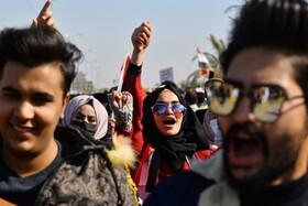 (تصاویر) تظاهرات در نجف کربلا علیه دولت عراق