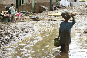 (تصاویر) خرابی های سیل در شمال سوماترا در اندونزی