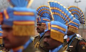 (تصاویر) رژه نظامیان هندی