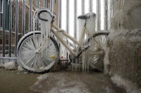 (تصاویر) سرما در شکاگو آمریکا
