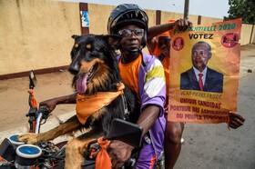 (تصاویر) تبلیغات انتخاباتی در توگو