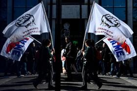 (تصاویر) تظاهراتی در روز اعتضاب عمومی در آتن یونان