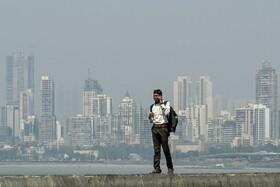(تصاویر) ساحلی در مومبی هند