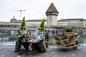 (تصاویر) شرکت کنندگان در جشنواره ای در سوئیس