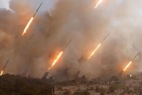 (تصاویر) تصویری از جدید ترین آزمایش موشکی در کره شمالی
