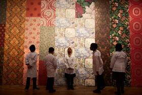 (تصاویر) دانش آموزان در مدرسه ای در منچشتر در کلاس آموزش