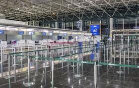 (تصاویر) فرودگاه خالی رم در ایتالیا به دلیل شوع بیماری ناشی از ویروس کرونا