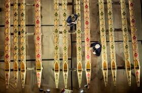 (تصاویر) بازسازی لوله های ارگ برزرگ کلیسایی در یورک انگلیس