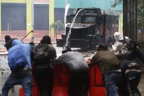(تصاویر) تظاهرات در مادلین کلمبیا علیه دولت