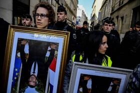 (تصاویر) تظاهرات معترضان در فرانسه علیه دولت ماکرون