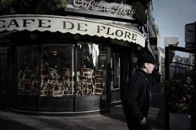 (تصاویر) تعطیلی رستوران ها و مغازه ها در پاریس فرانسه