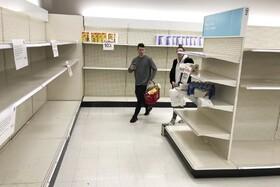 (تصاویر) فروشگاهی خالی در واشنگتن آمریکا