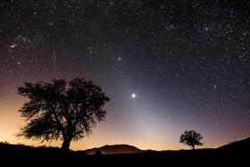 (تصاویر) نمای از آسمان با سیاره ونوس در مجارستان