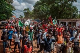 (تصاویر) تظاهرات در مالاوی