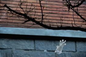 (تصاویر) دستکشی در باد در میلان ایتالیا نشانه ویروس کرونا