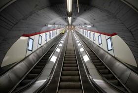 (تصاویر) متروهای خالی در وین اتریش