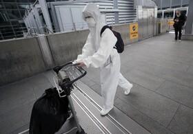 (تصاویر) مسافری در فرودگاه هیترو لندن
