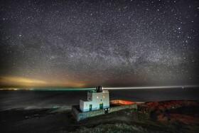 (تصاویر) تصویری از راه شیری و ستارگان در شب