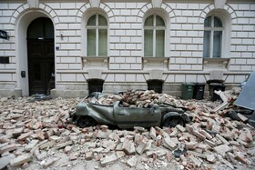 (تصاویر) خرابی های زلزله در زاگرب کرواسی