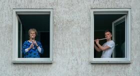 (تصاویر) قرنطینه در لایپزیک آلمان