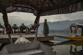(تصاویر) سرینگر شهری توریستی در کشمیر هند که این روزها جمعیت زیادی را باید میزبانی می کرد