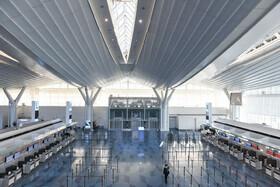 (تصاویر) فرودگاه توکیو و خالی از مسافر